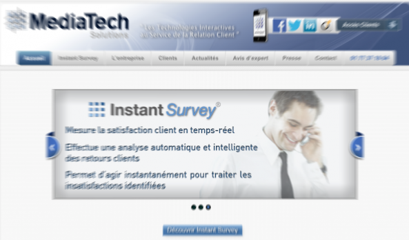 MediaTech Solutions conquiert l'Assurance grâce à sa solution de Feedback Management en temps réel : Instant Survey